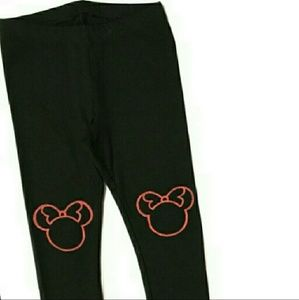 Custom Minnie Mouse leggings ~ Sz XL
